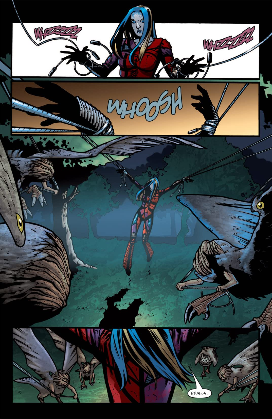 Illyria: Haunted #3 (of 4)