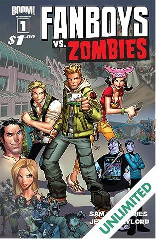 Fanboys vs. Zombies #1