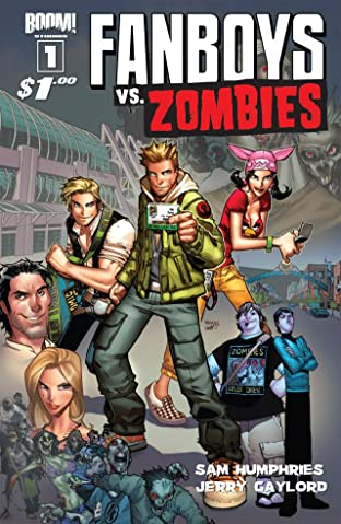 Fanboys vs. Zombies No.1