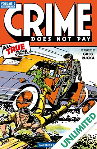 Crime Does Not Pay Archives Vol. 2