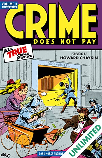 Crime Does Not Pay Archives Vol. 3