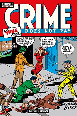 Crime Does Not Pay Archives Tome 8