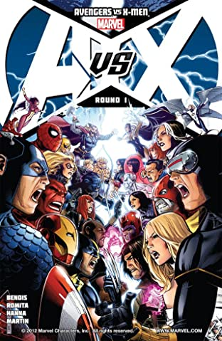 Avengers vs. X-Men No.1 (sur 12)