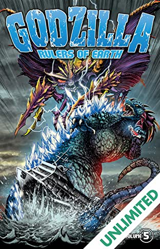 Godzilla: Rulers of Earth Vol. 5