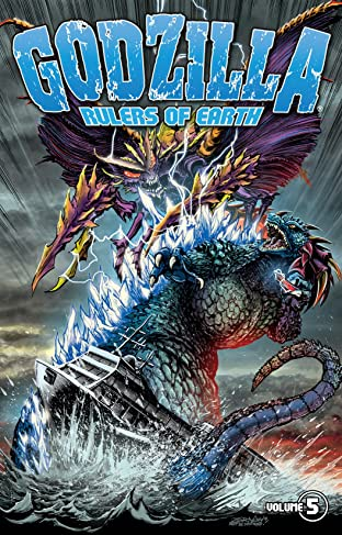 Godzilla: Rulers of Earth Tome 5