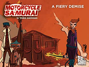 Motorcycle Samurai #5: A Fiery Demise
