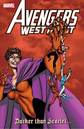 Avengers West Coast: Darker Than Scarlet
