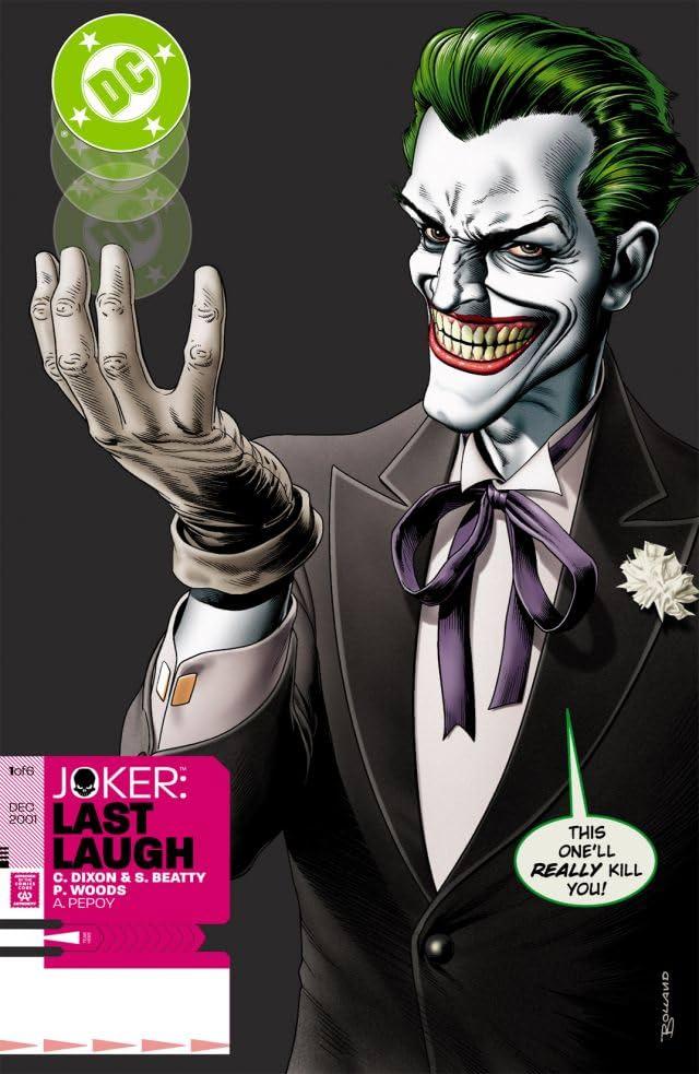 Joker - Last Laugh - Tome 1