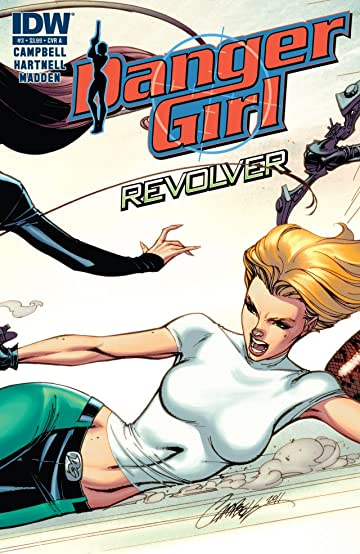 Danger Girl: Revolver #3 (of 4)