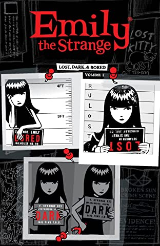 Emily the Strange Tome 1: Lost, Dark, and Bored