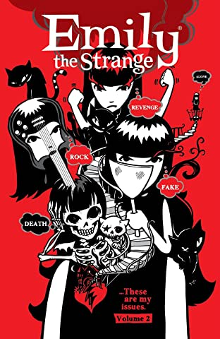 Emily the Strange Tome 2: Rock, Death, Fake, Revenge, and Alone
