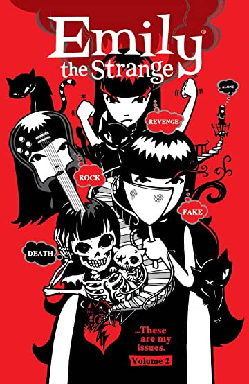 Emily the Strange Vol. 2: Rock, Death, Fake, Revenge, and Alone