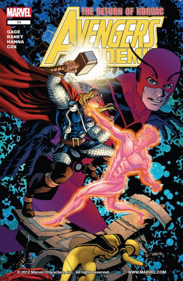 Avengers Academy #11
