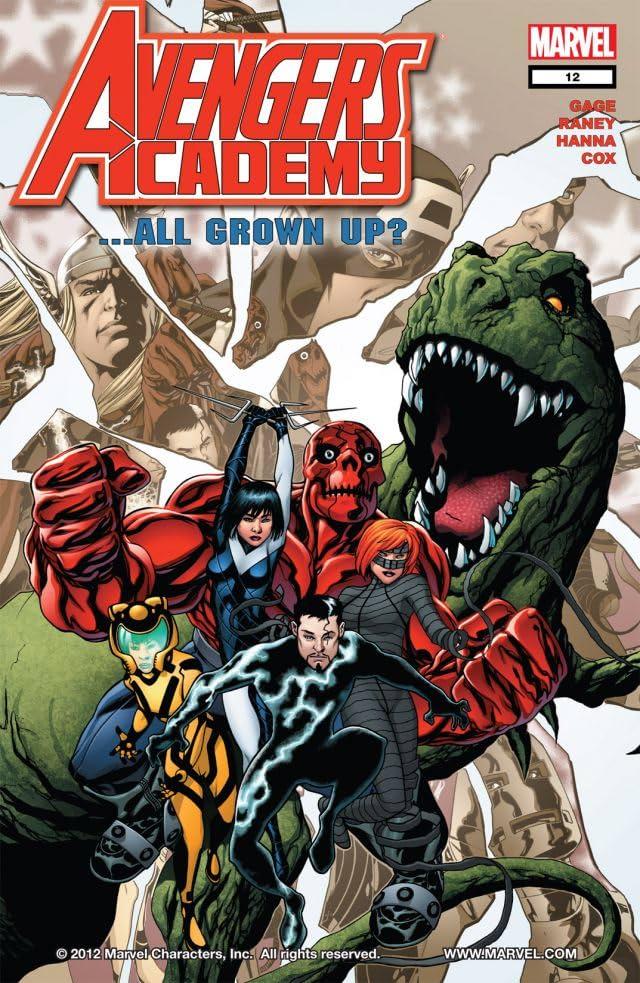 Avengers Academy #12