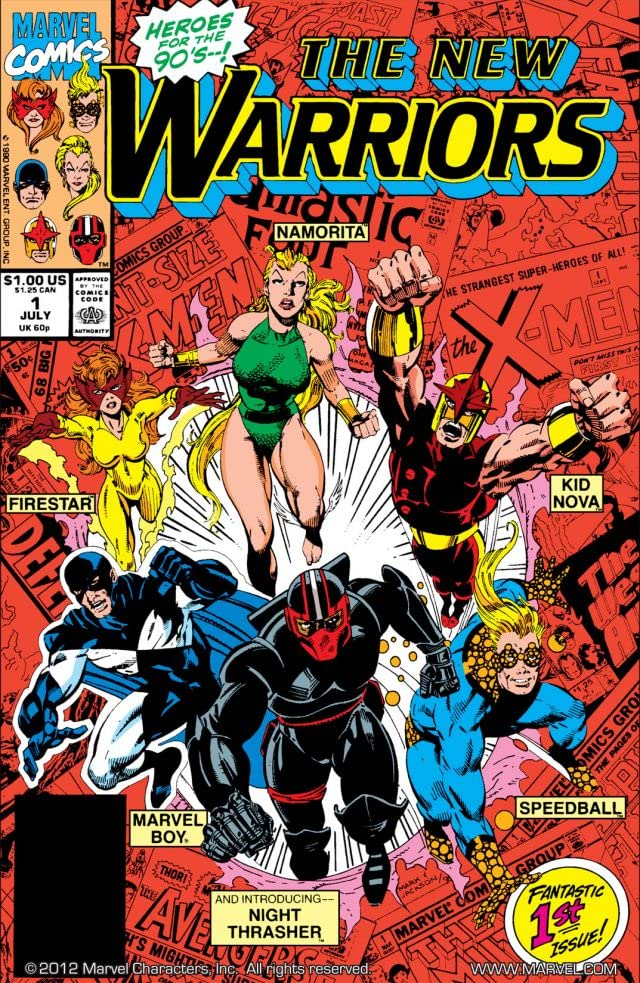 New Warriors (1990-1996) #1