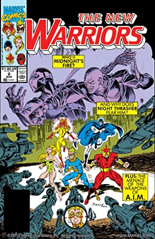 New Warriors (1990-1996) #2
