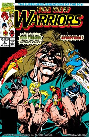 New Warriors (1990-1996) #3