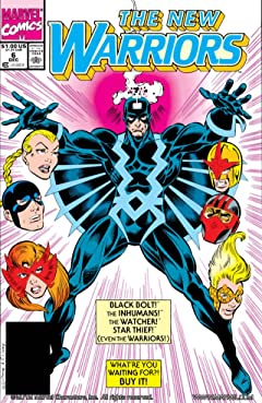 New Warriors (1990-1996) #6