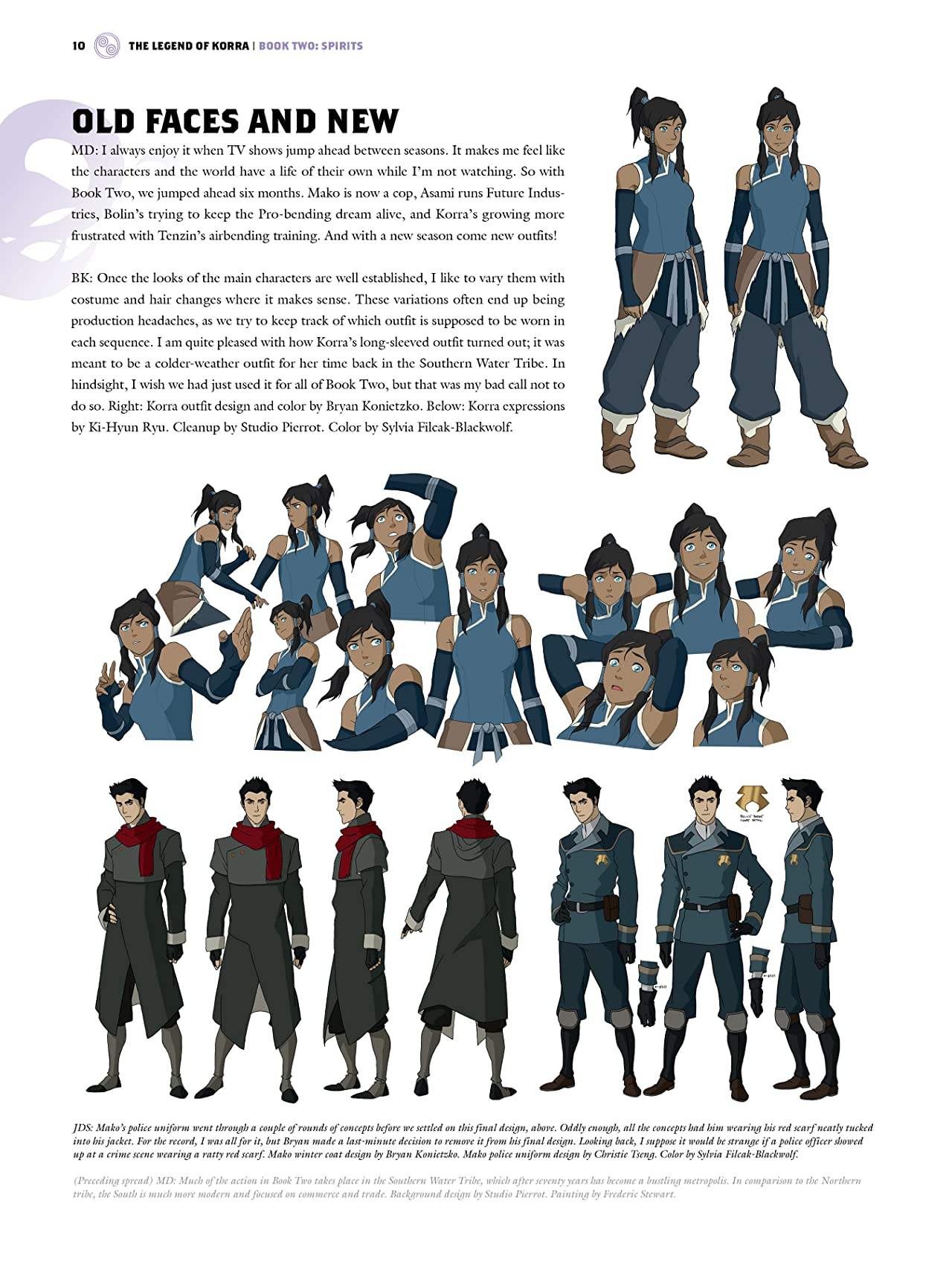 The Legend of Korra: The Art of the Animated Series - Book Two: Spirits