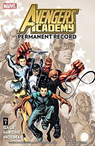 Avengers Academy Vol. 1: Permanent Record
