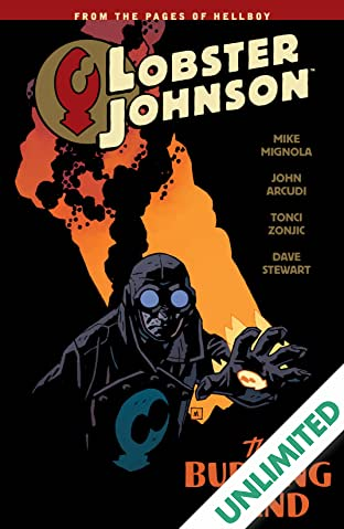 Lobster Johnson COMIC_VOLUME_ABBREVIATION 2: The Burning Hand