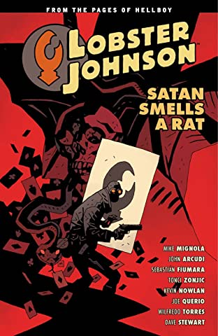 Lobster Johnson COMIC_VOLUME_ABBREVIATION 3: Satan Smells a Rat