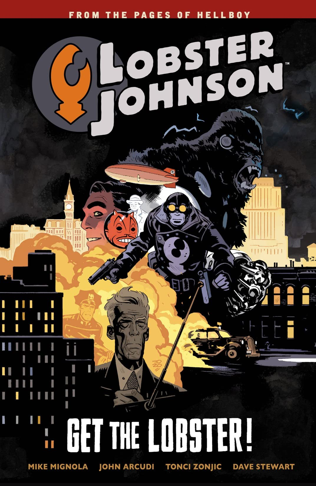Lobster Johnson Vol. 4: Get the Lobster