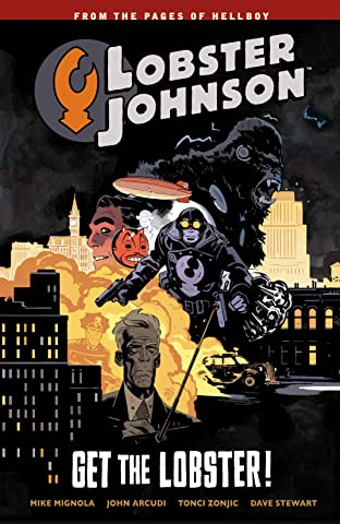 Lobster Johnson COMIC_VOLUME_ABBREVIATION 4: Get the Lobster