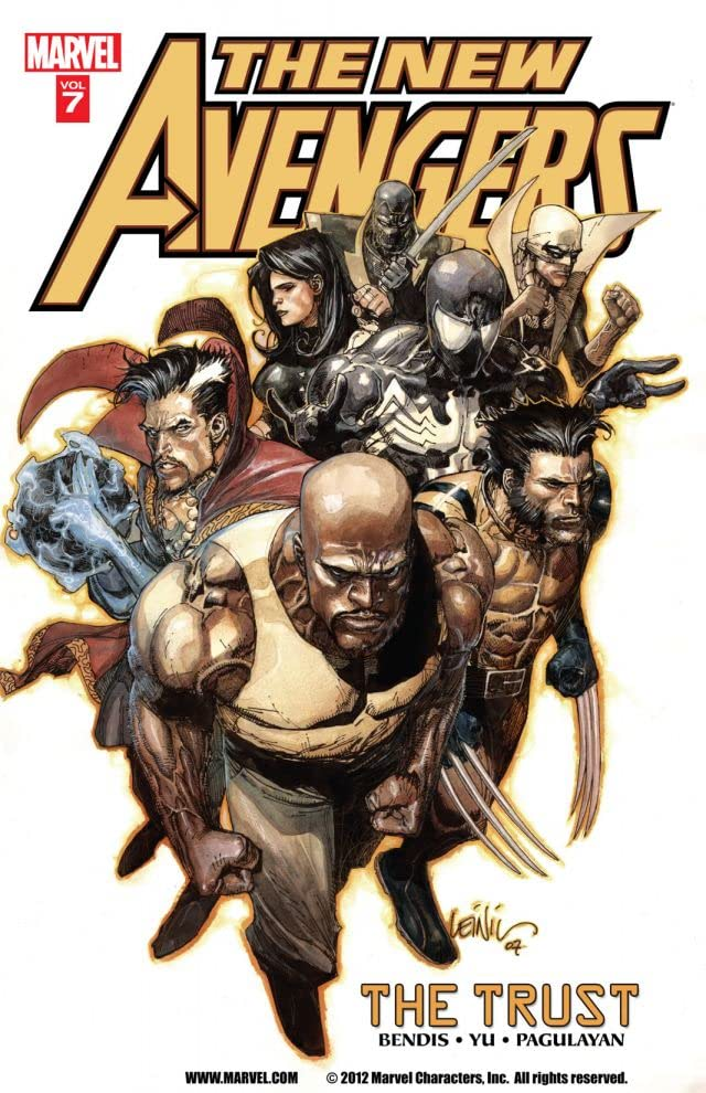 New Avengers Vol. 7: The Trust