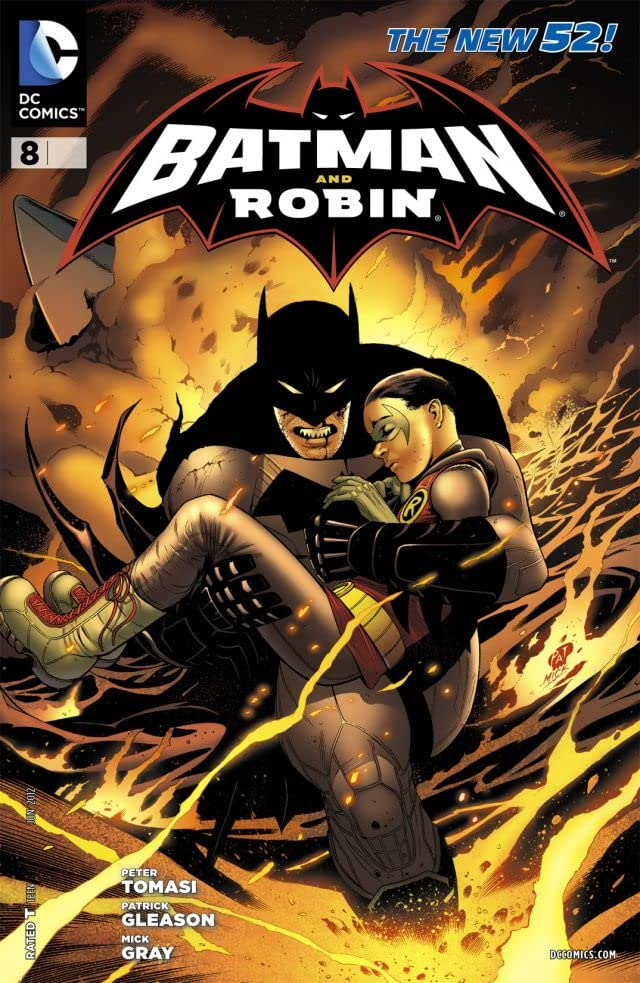 Batman and Robin (2011-2015) #8