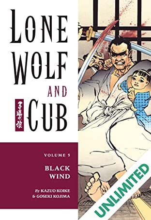 Lone Wolf and Cub Vol. 5: Black Wind