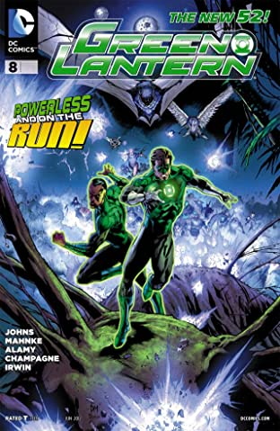 Green Lantern (2011-2016) #8