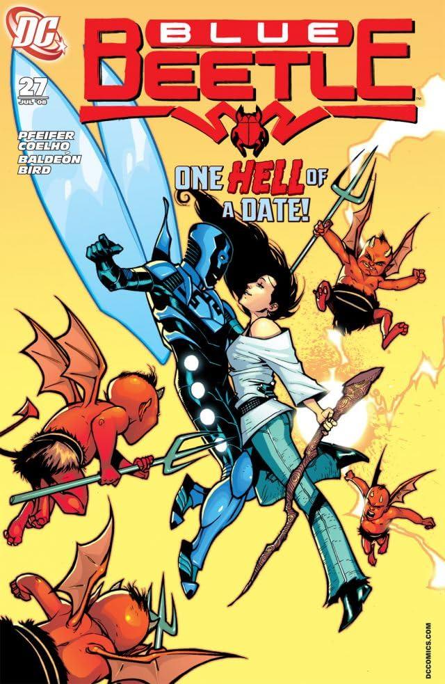Blue Beetle (2006-2009) #27