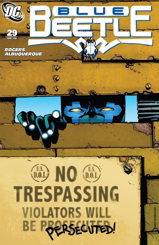 Blue Beetle (2006-2009) #29