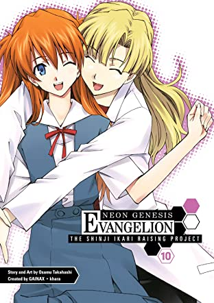 Neon Genesis Evangelion: Shinji Ikari Raising Project Vol. 10
