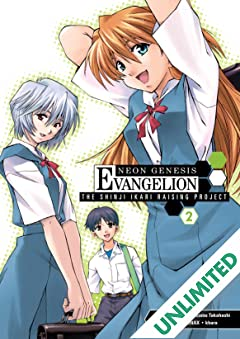 Neon Genesis Evangelion: Shinji Ikari Raising Project Vol. 2
