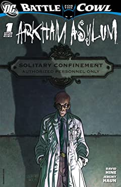 Batman: Battle For the Cowl- Arkham Asylum