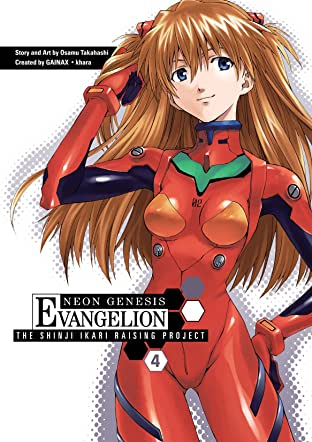Neon Genesis Evangelion: Shinji Ikari Raising Project Vol. 4