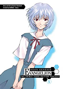 Neon Genesis Evangelion: Shinji Ikari Raising Project Vol. 5