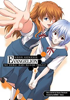 Neon Genesis Evangelion: Shinji Ikari Raising Project Vol. 8