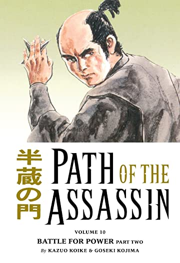 Path of the Assassin Vol. 10: Battle For Power Part Two