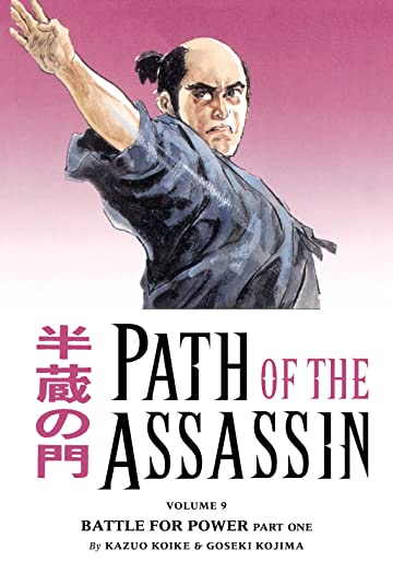 Path of the Assassin Vol. 9: Battle For Power Part One