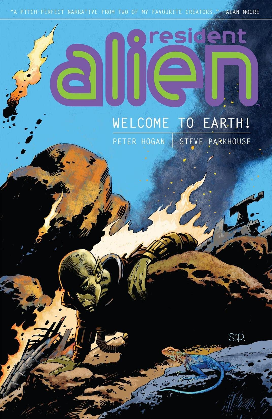 Resident Alien Vol. 1: Welcome to Earth!