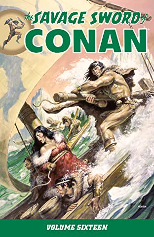 The Savage Sword of Conan Vol. 16