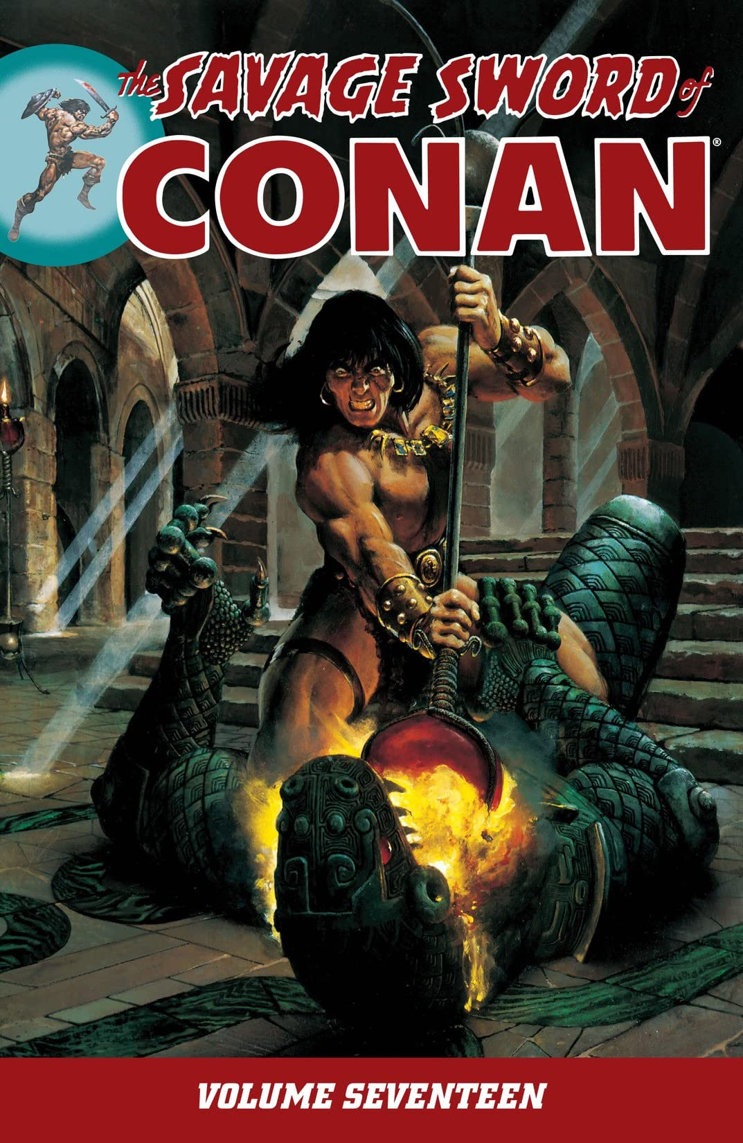 The Savage Sword of Conan Vol. 17