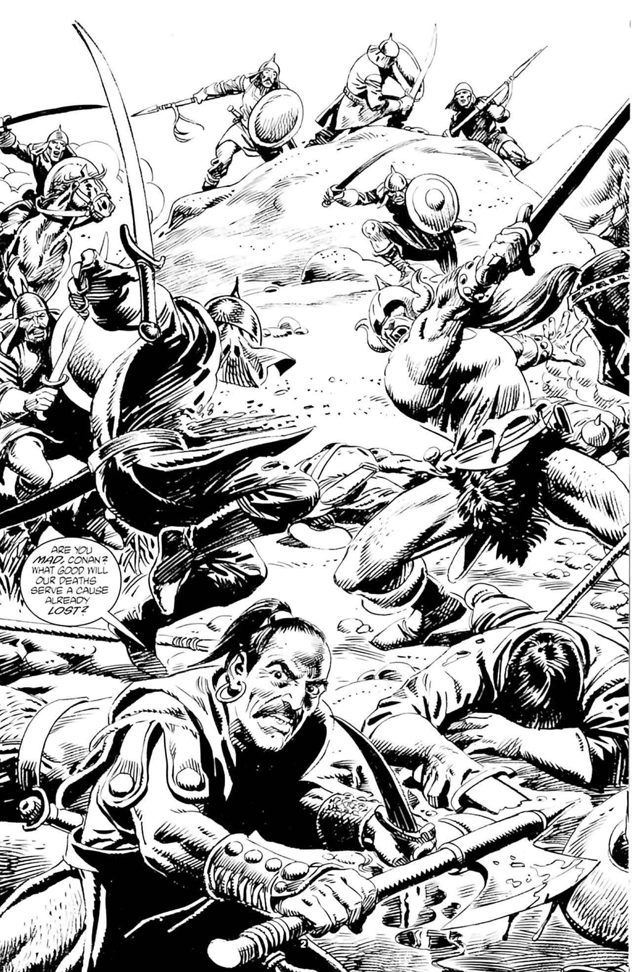The Savage Sword of Conan Vol. 18