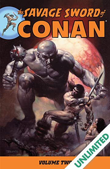 The Savage Sword of Conan Vol. 2