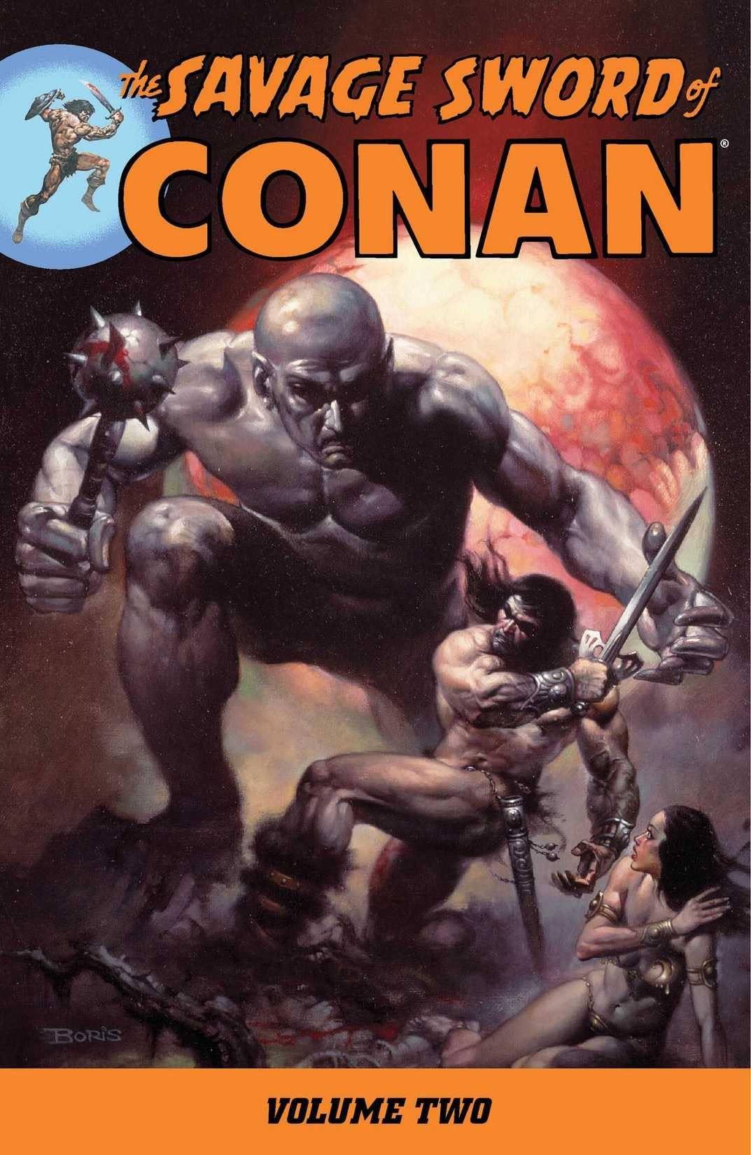 The Savage Sword of Conan Vol. 2