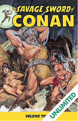 The Savage Sword of Conan Vol. 3