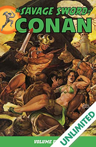 The Savage Sword of Conan Vol. 5
